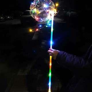Lighted balloon - good as a Christmas gift