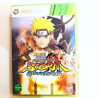 XBOX360 Naruto Shippuden Ultimate Ninja Storm Generations
