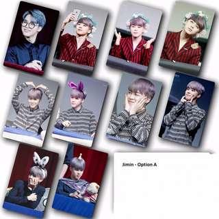 BTS Crystal Card (Jimin)