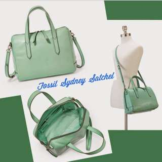 Fossil Sydney Satchel in Mint