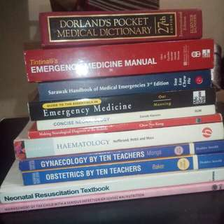 Medical books - secondhand