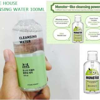 ETUDE HOUSE Monster cleansing water 100ml