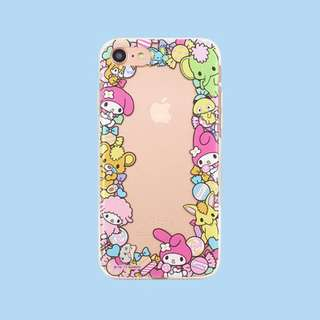 Authentic Hello Kitty border design Jelly Case (My Melody)