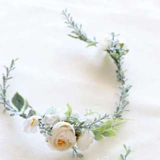 Lovely Bridal Flower Headband (New)