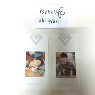 SEVENTEEN Dino / Mingyu Love & Letter Bookmark