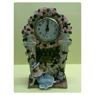 Antique Lady's Table Clock