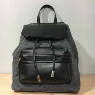 Charles and keith back pack bag