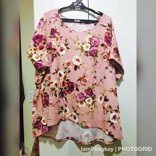 Plus Size Floral Top (2-3xl)