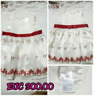 Dress EUC for 9-12 months Like new