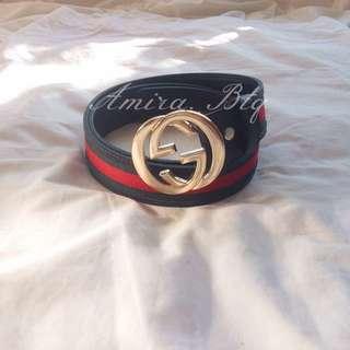 GUCCI Double Logo Belt