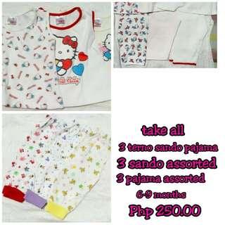 Take All Sando Pajama for 6-12 months GUC