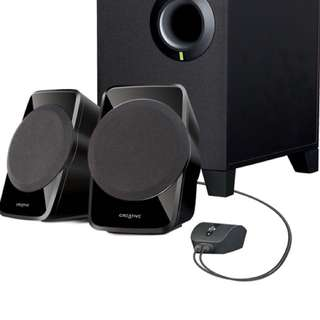 Creative A120 speaker with subwoofer