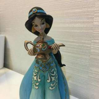 Disney Traditions Princess Jasmine Sonata Figurine By Enesco