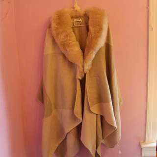 Ever new - Faux Fur Poncho