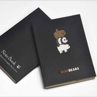 CUTE WE BARE BEARS NOTEBOOK [PO]