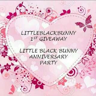 Happy anniversary Little Black Bunny