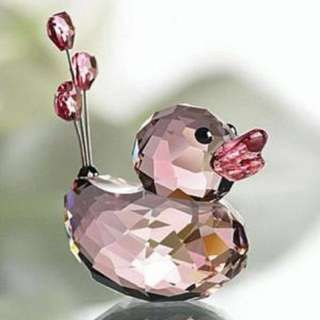 SWAROVSKI Crystal HAPPY DUCK Sweetheart 施華洛世奇 水晶鴨 擺設