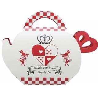 🚚 🌟愛麗絲香皂茶壺組