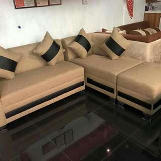Ferrero L shape sofa set