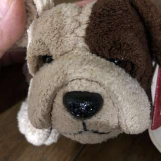 RUSS Bull dog plushie