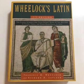 Wheelock's Latin 7ed