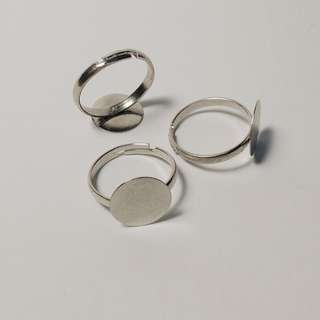 Adjustable Ring Base 2PCs for Art and Craft, Jewelry making. Jewelry Finding