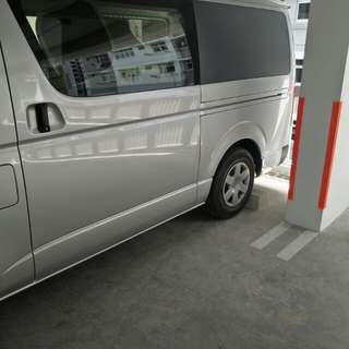 2015 Toyota Hiace for rent @ $65 daily