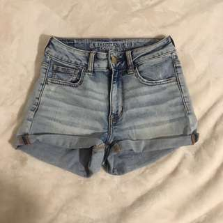 American Eagle Hi-Rise Stretch Shorts
