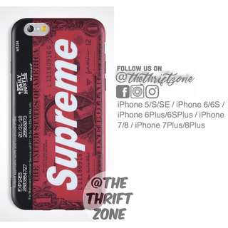 Dollar X Supreme Matte Imd Case for iPhone