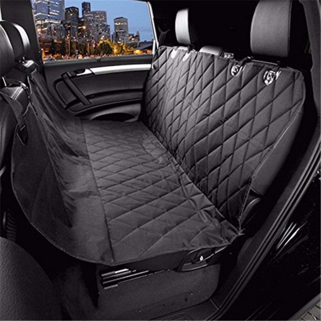 com black for barksbar car pet waterproof dog supplies cover standard cars convertible dp seat hammock original amazon
