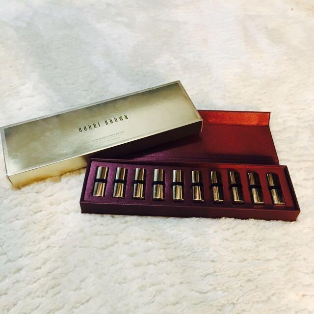 原價8000 Bobbi brown芭比波朗 金緻奢華唇膏限量禮盒