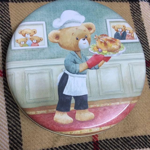 香港帶回小熊餅乾