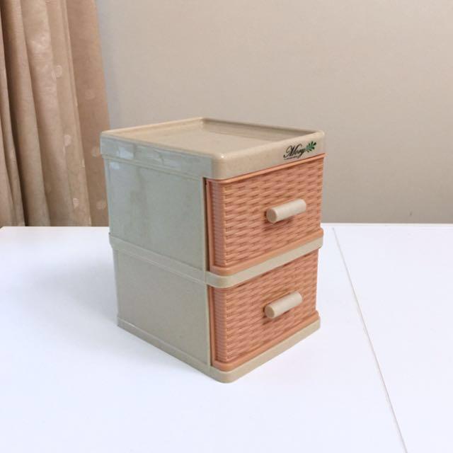 桌上小手納抽屜盒