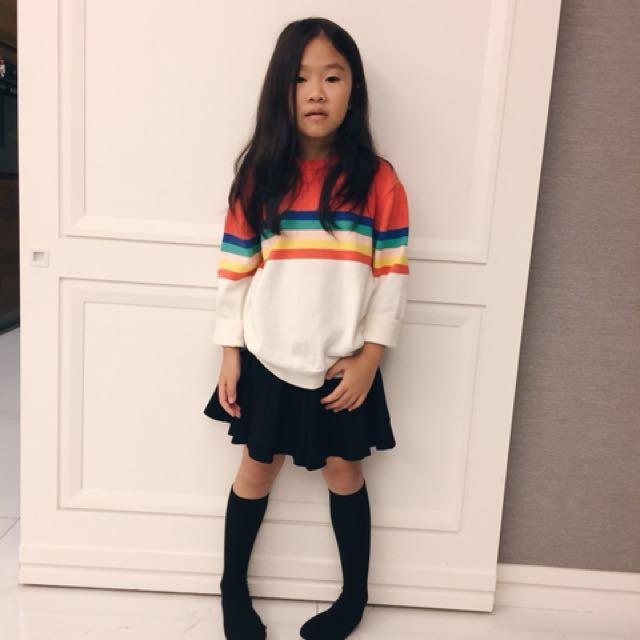 小女孩秋冬針織上衣