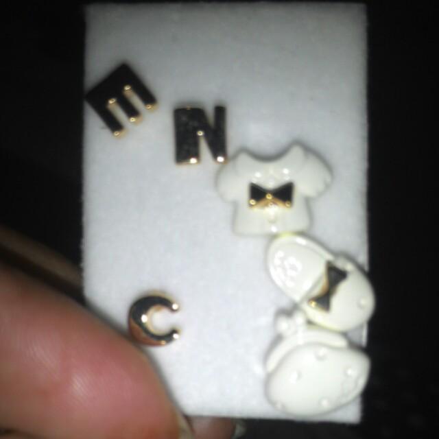 韓版耳針可愛風六件組