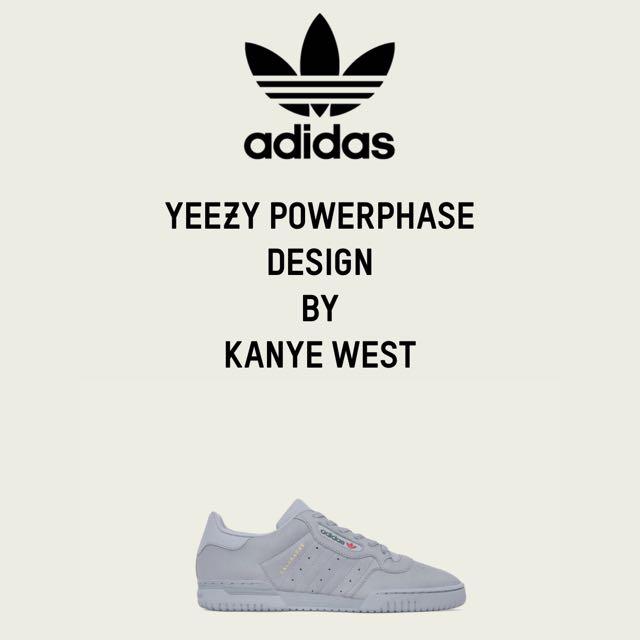 預購 adidas YEEZY POWERPHAS