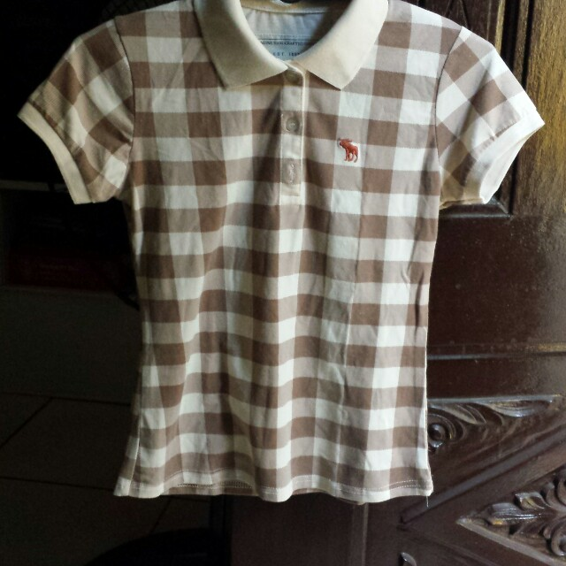 Abercrombie and Fitch checkered shirt