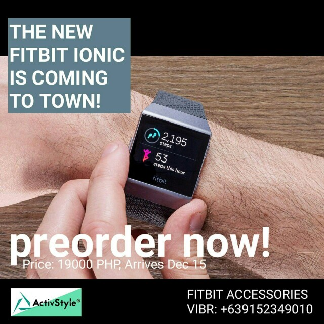 Accepting 2nd round of orders for the Fitbit Ionic