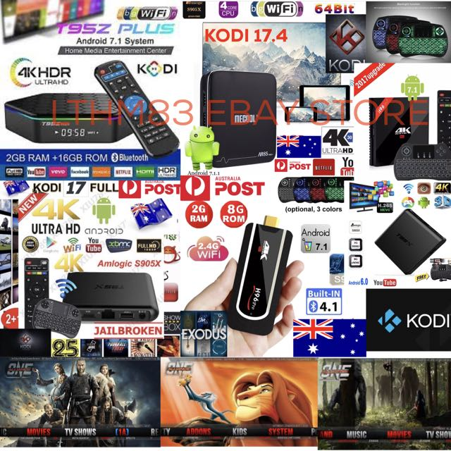 ANDROID TV BOXES MANY TYPES KODI 17.6 LOADED APPS PLUG AND PLAY STARTING FROM $60