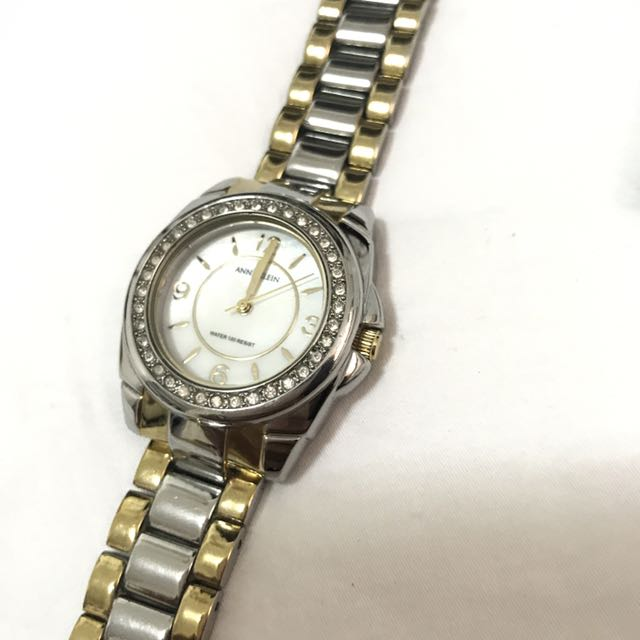 Anne Klein Two Toned Watch Original