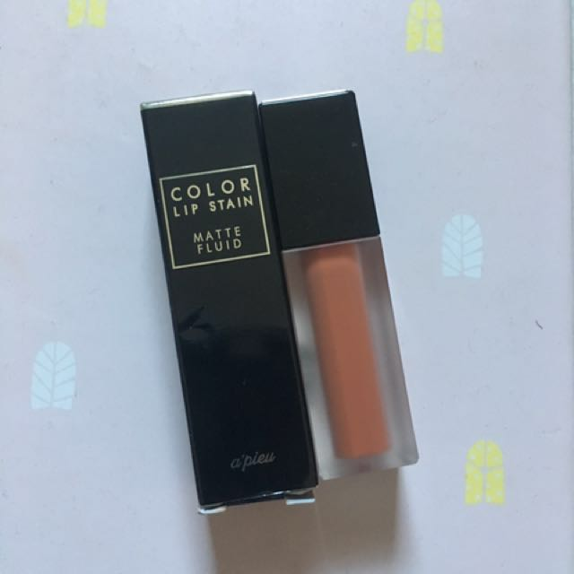 A'pieu Color Lipstain (Matte) in Ginger Butter