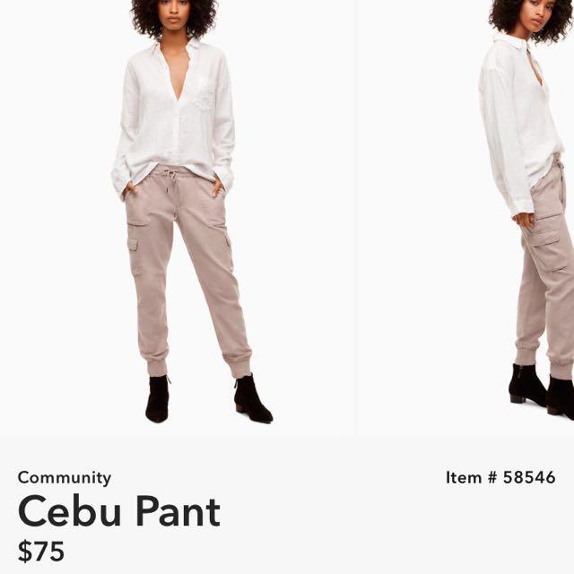 Aritzia Community Cebu Pants