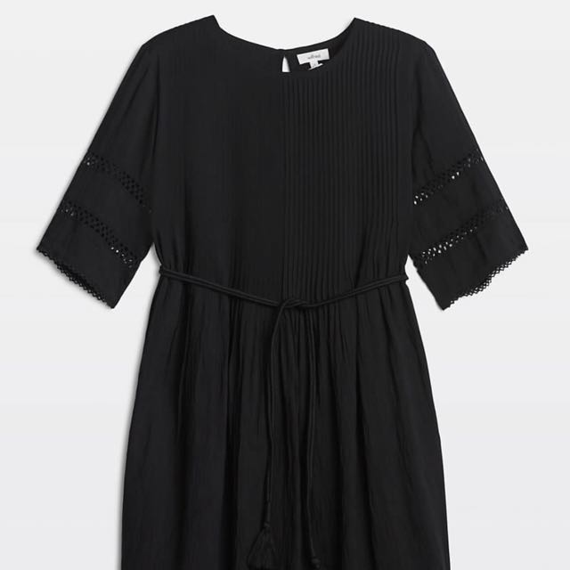 Aritzia Sonore Dress Black