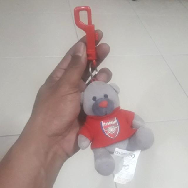 ARSENAL Mini Teddy Bear Key Chain