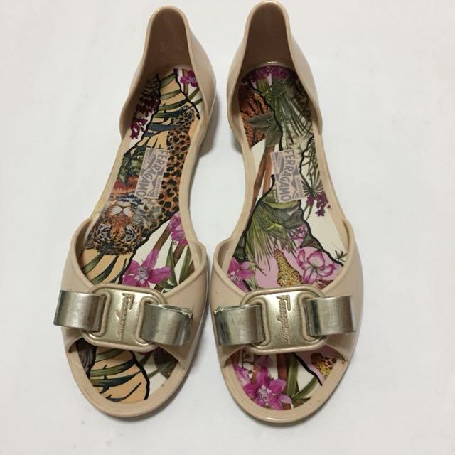 af2fe110169 Authentic- Salvatore Ferragamo- jelly shoes