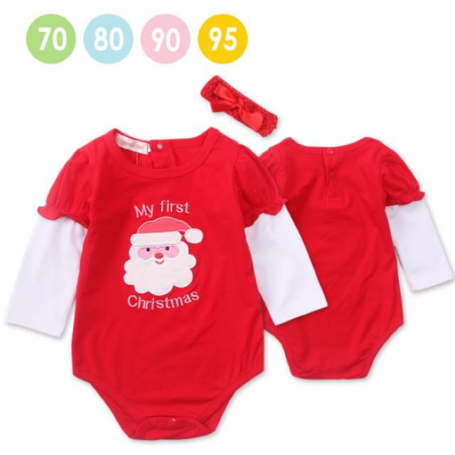 Baby Christmas Romper Hairbond Clearance Babies Kids Babies