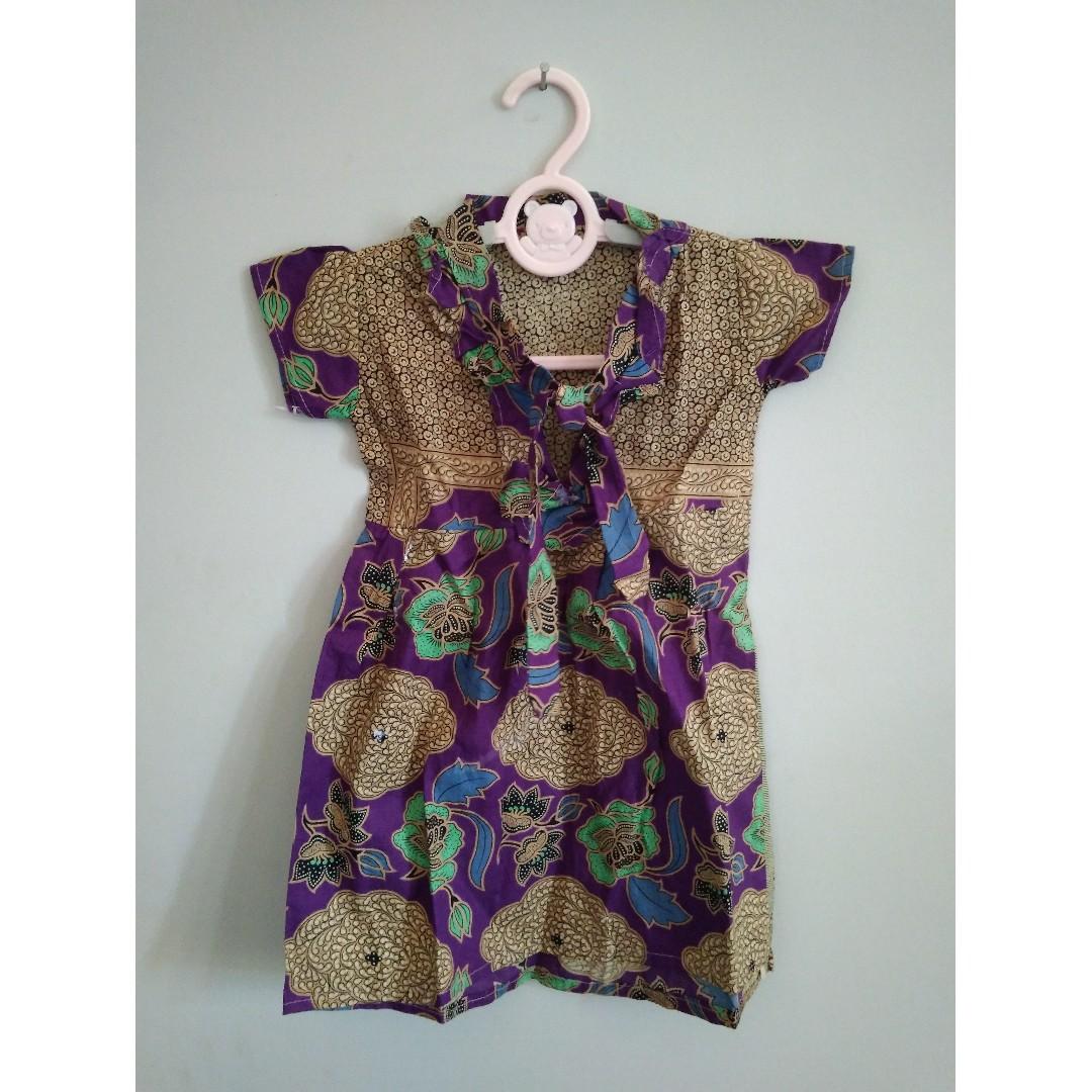 Baju Batik Balita