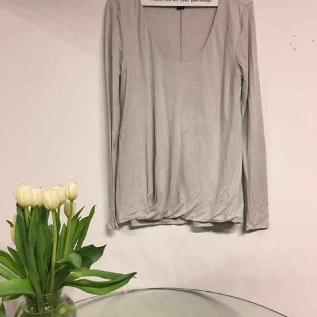 Banana Republic light lavender too (super soft) size small