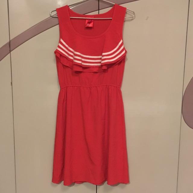 <Bayo> Sailor Red Dress
