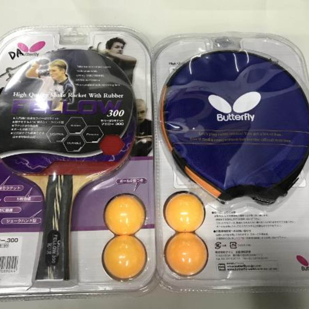 Bet tenis meja pingpong butterfly fellow 300 free bola pp dan cover ... 807a2a6d45